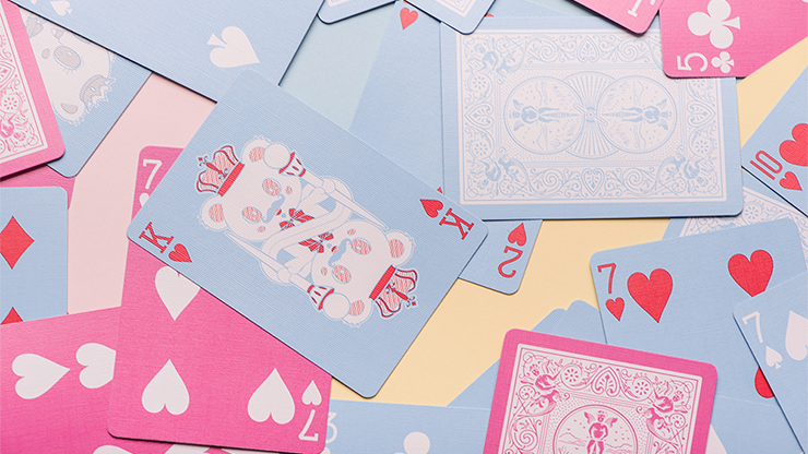 Bicycle Lovely Bears Pink Playing Cards