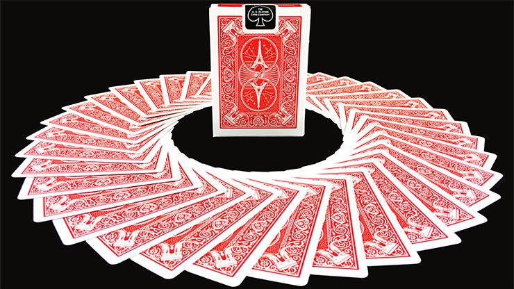 Bicycle Paris Red Playing Cards