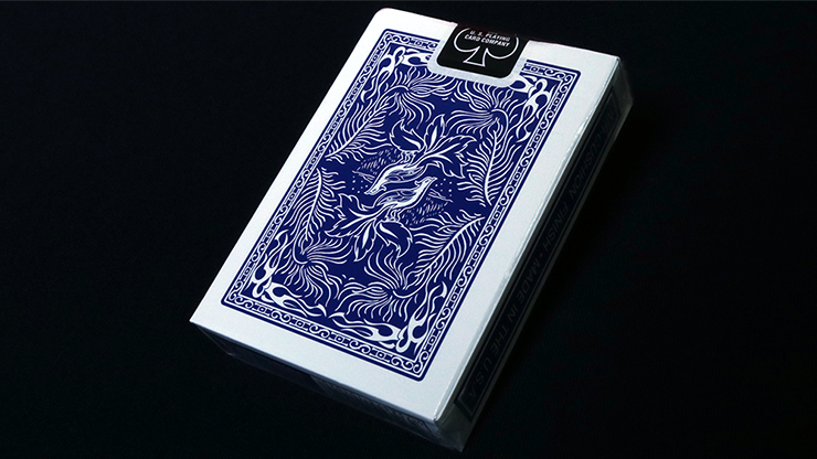 Phoenix Large Index Blue Playing Cards