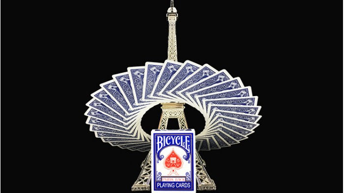 Bicycle Paris Back Blue Playing Cards