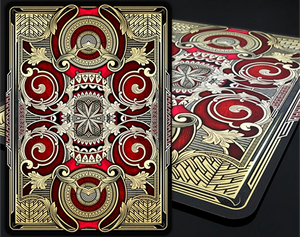 Bicycle Mystique Red Playing Cards