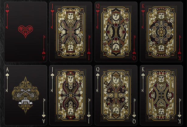 Bicycle Spirit II Black Playing Cards