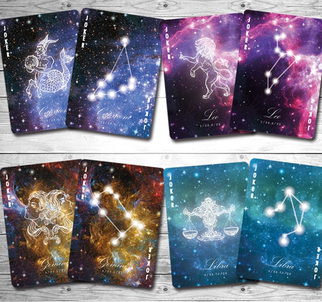 Bicycle Constellation Series Leo Playing Cards
