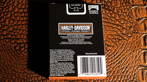 Harley Davidson Oil Playing Cards