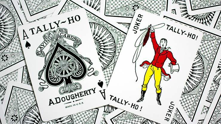 Tally-Ho Deluxe Circle White Playing Cards