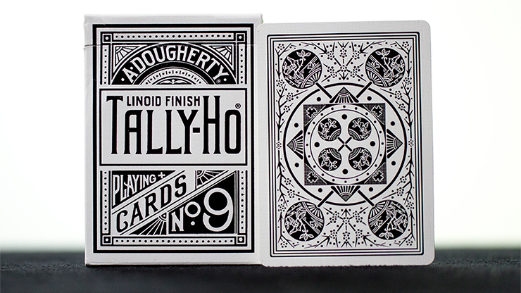 Tally-Ho Deluxe Fan White Playing Cards