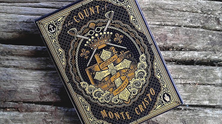 Count of Monte Cristo Playing Cards