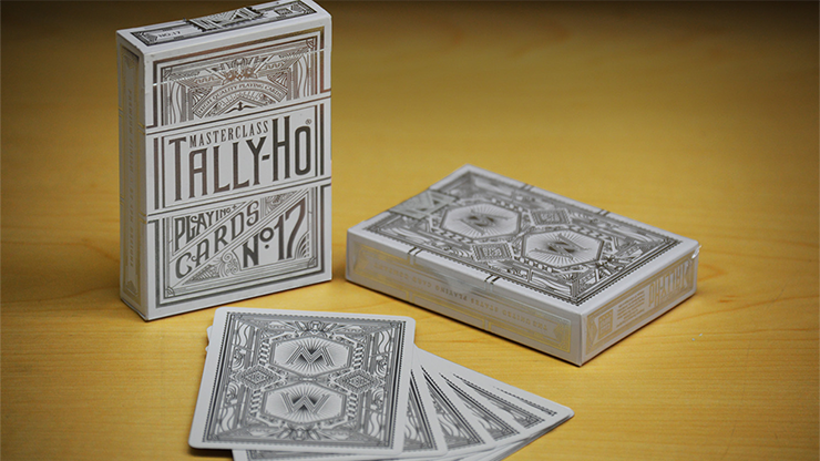 Tally-Ho Masterclass White Playing Cards