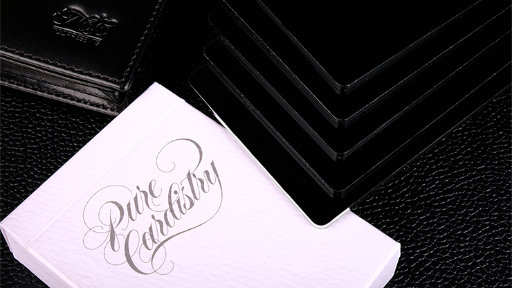 Pure Cardistry Trainers Black Playing Cards