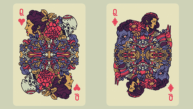 Bicycle Artist v2 Playing Cards