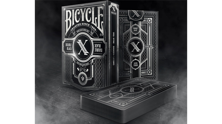Bicycle Double Black v2 Playing Cards