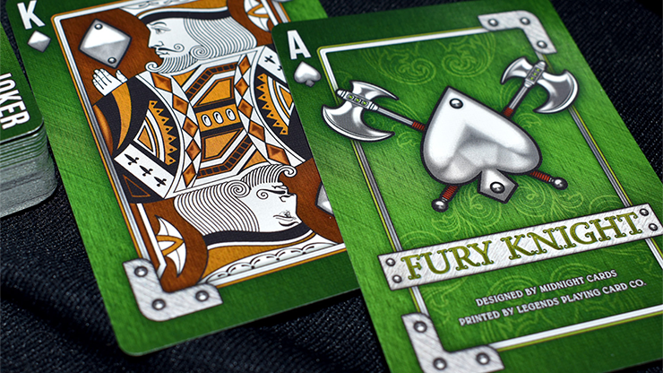 Knight Fury Playing Cards