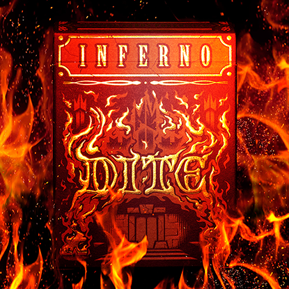 Inferno Dite Playing Cards
