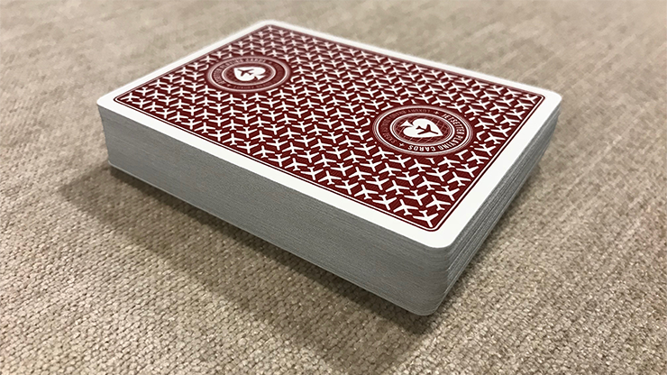 Jetsetter Restricted Red Playing Cards