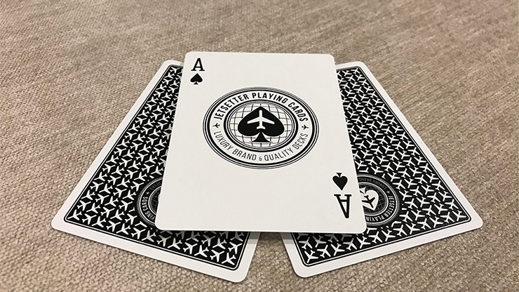 Jetsetter Black Private Reserve Playing Cards