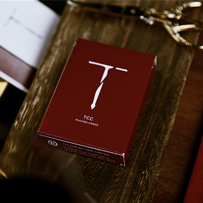 New T Red Playing Cards
