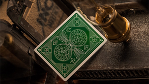 National Green Playing Cards