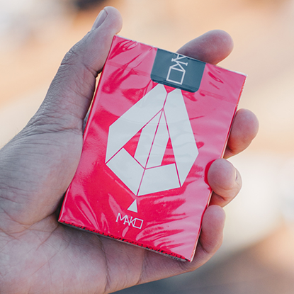 Mako Red Playing Cards