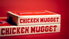 Chicken Nuggets Jumbo Red Playing Cards