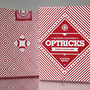Mechanic Optricks Red Playing Cards