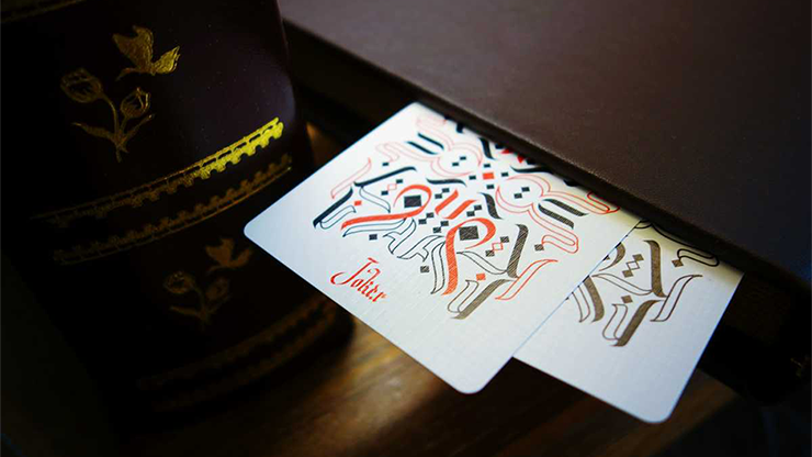 Cardistry Calligraphy Gold Foil Edition Playing Cards