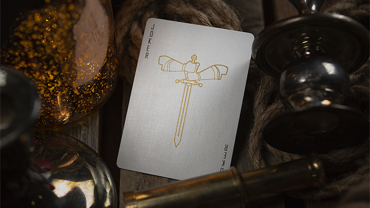 King and Legacy Gold (Marked) Playing Cards