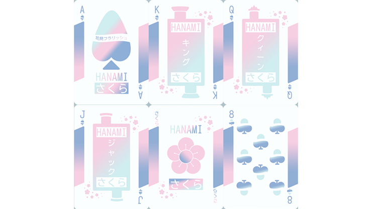 Hanami Playing Cards