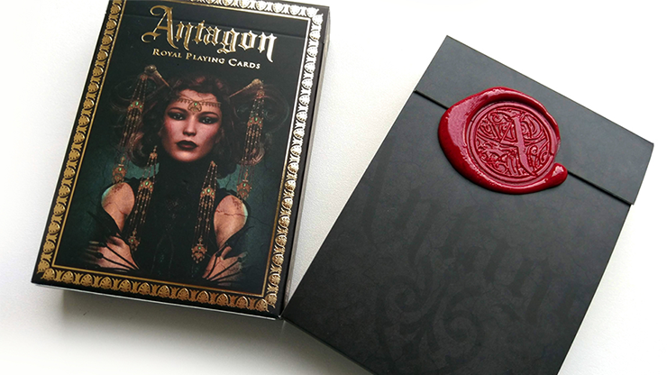 Antagon Royal Red Seal Edition Playing Cards