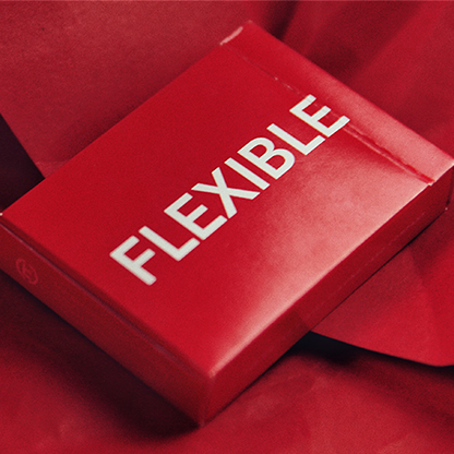 Flexible Red Playing Cards