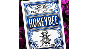 Honeybee Elite Edition Blue Playing Cards