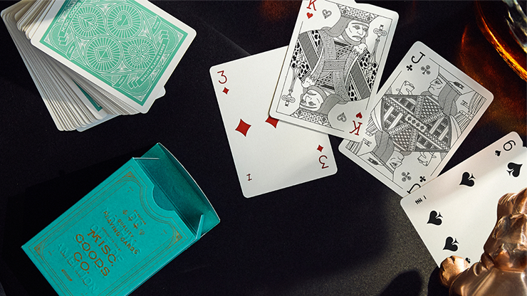 The MGCO Green Playing Cards
