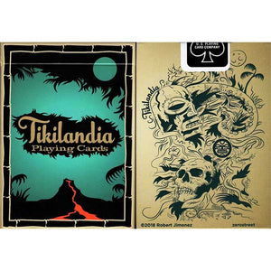 Tikilandia Playing Cards