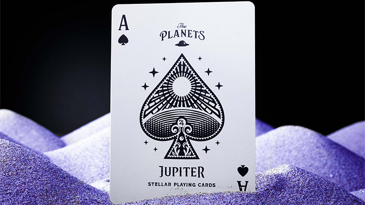 The Planets: Jupiter Playing Cards