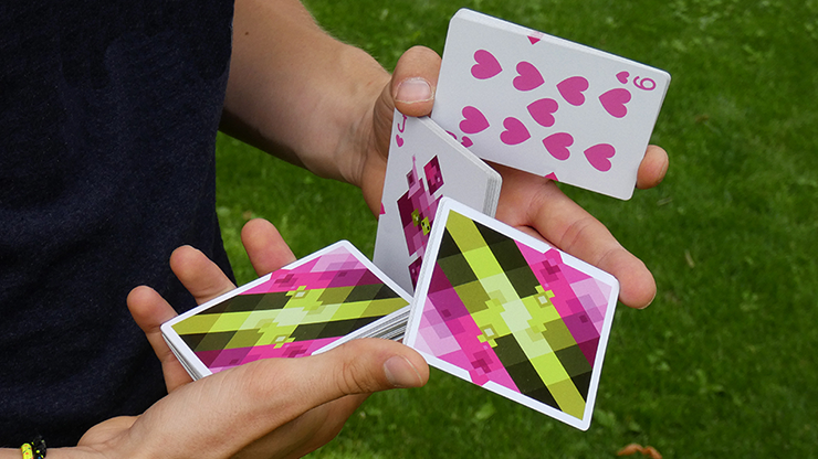 Diamon Summer Bright Playing Cards