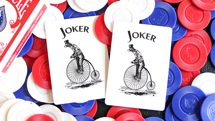Bicycle Faro Blue Playing Cards
