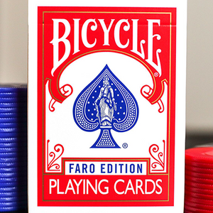 Bicycle Faro Red Playing Cards