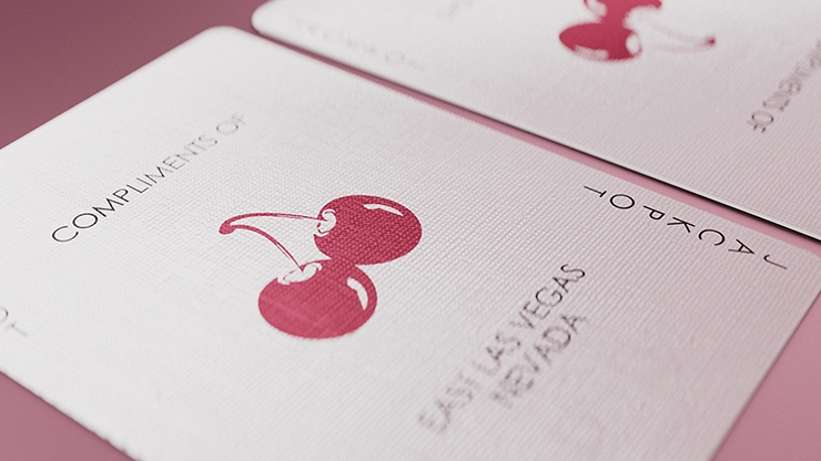 Cherry Casino Flamingo Pink Playing Cards