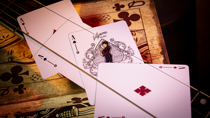 Six Strings Playing Cards