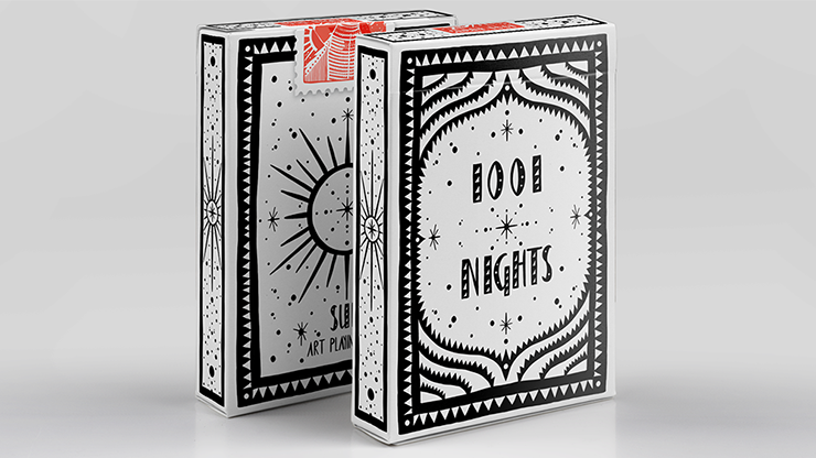 1001 Nights Sun Playing Cards