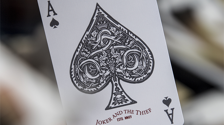 Joker and the Thief Street Edition Playing Cards
