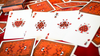 Bicycle Ladybug Gilded Edition Red Playing Cards