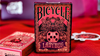 Bicycle Ladybug Gilded Edition Black Playing Cards