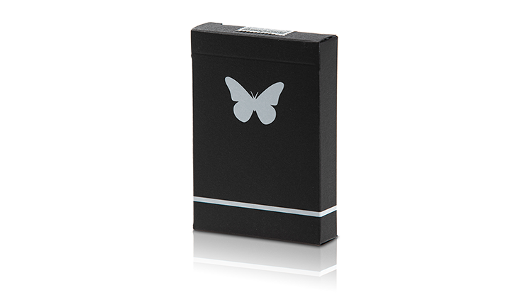 Butterfly Black and White (Marked) Playing Cards