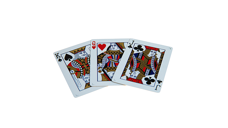 Butterfly Black and Gold (Marked) Playing Cards