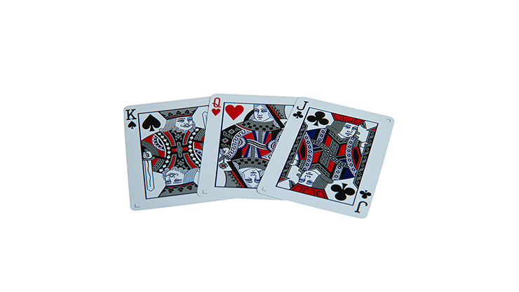 Butterfly Black and Silver (Marked) Playing Cards