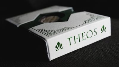 Theos Deluxe Edition Green Playing Cards