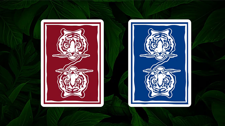 Hidden King Luxury Red Playing Cards