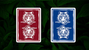 Hidden King Luxury Blue Playing Cards