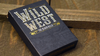 Wild West Blackhills Playing Cards