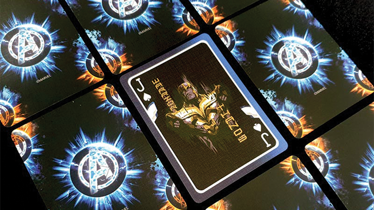 Marvel Avengers Endgame Final Playing Cards